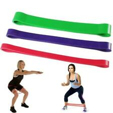 Heavy Duty Resistance Band rubber loops Exercise Yoga Workout Power Gym Fitness