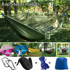 Double Outdoor Person Travel Camping Tent Hanging Hammock Bed Mosquito Net Set