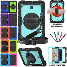 Rugged Hard Case For Samsung Galaxy Tab A 8.0 2018 SM-T387 with Screen Protector