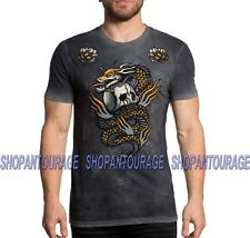 Affliction Dragon Fire A19582 New Black Label Collection Graphic T-shirt For Men