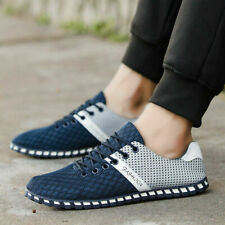 Sneakers Mens Athletic Mesh Shoes Casual Breathable Sports Flats Running Trainer
