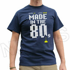 Made In The 80's Funny Retro Fancy Dress Mens Ladies Kids T-Shirt Vests S-XXL