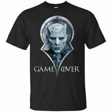 Game of Thrones T-Shirt GOT Night King Game Over Tee Shirt Short Sleeve S-5XL