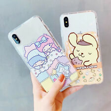 Cartoon Sanrio Soft Phone Case Cover For iPhone X XS Max XR 6 7 8 Plus New