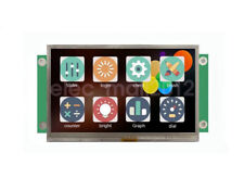 New 4.3 inch USART HMI TTL LCD Display Touch Screen 480x272
