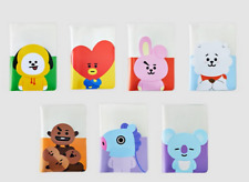 NIP Line Friends x BT21 BTS CLEAR Passport Case KOYA RJ MANG CHIMMY TATA COOKY