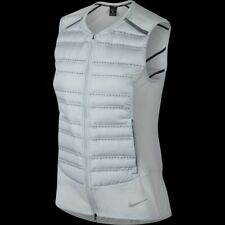 a3ac48465c158 Nike Aeroloft 800 RUNNING Gilet Vest Pure Platinum Women' Sizes # 856636-043