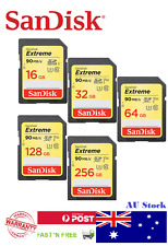 ORIGINAL SANDISK EXTREME SDHC/XC SD MEMORY CARD(16/32/64/128/256GB) & msd reader