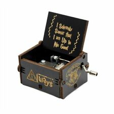 New Black Star Wars Music Box  Game of Thrones Castle In The Sky Hand Crank
