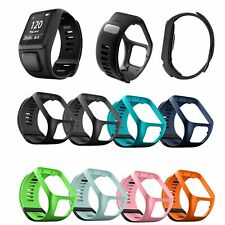 Smartwatch Band Replace Silicone Strap For Tom Tracker Watch Runner/Spark 2 3