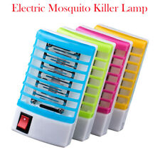 Electric Mosquito Killer Fly Bug Insect Trap Zapper w/ LED Lamp EU Plug