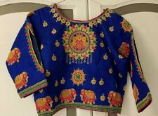 Readymade Saree Blouse Stitched Heavy work Blouse,Designer sari Blouse,Crop Top