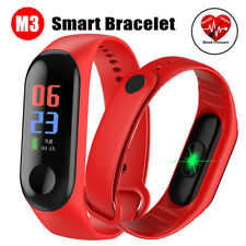 Heart Rate Smart Watch Blood Pressure Monitor Bracelet Wristband For iOS Android