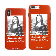 Mona Lisa TPU Soft Silicone Phone Case Cover For iPhone X XS Max XR 6 7 8 Plus