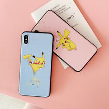 Cute Pikachu TPU Frosted Phone Case Cover For iPhone X XS Max XR 6 7 8 Plus