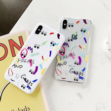 Candy Doodling Eye TPU Soft UNBreak Phone Case Cover For iPhone 6-XS Max