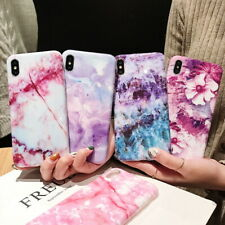 Slim Marble Soft Silicone Pattern Case Cover For iPhone Xs Max XR 7 8 Plus 6s X