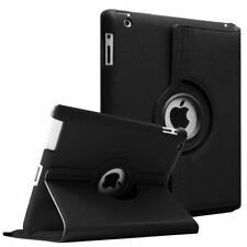 Case for Apple iPad 2 3 4, 360 Rotation Flip PU Leather Case Stand Smart Case Co
