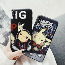 Pikachu Antiskid Cute Frosted Soft UNBreak Phone Case Cover For iPhone 6-XS Max