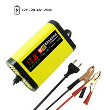 Automatic 3 Stages Car Motorcycle Battery Charger 12V 2A AGM GEL Lead Acid Hot