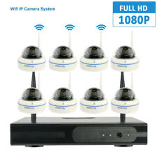 8 Channels Wireless 2MP IP CCTV Security Camera System IR 1080P NVR WIFI Outdoor