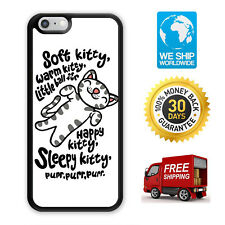 Soft Kitty Big Bang Theory Case Cover For Samsung Galaxy / Apple iPhone 11 iPod
