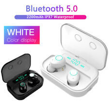 M7 Bluetooth 5.0 Headset LED Headphones TWS Wireless Earbuds Stereo Earphones