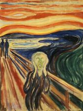 The Scream by Edvard Munch 1000 or 500 Piece Jigsaw Puzzles