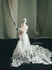 "1/12 Clothes outfits wedding Dress for 6"" PHICEN TBLeague Female action Figure"