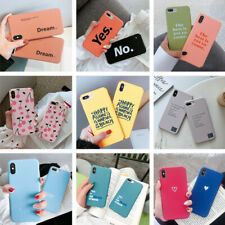 Ultra Slim Matte Pattern Hard Back Case Cover for iPhone Xs Max XR X 6s 7 8 Plus