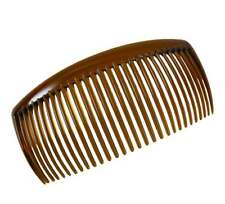 """Vintage Retro Opalescent Pink Hair Side Combs 2 3//4/"""" Comb NEW  Made in USA"""