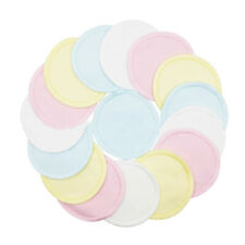 16pcs Reusable Cosmetic Pads Washable Face Cleanser Make-Up Remover With Bag