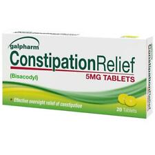 Galpharm Constipation Relief Tablets 5mg Bisacodyl Laxative Tablets