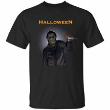 Michael Myers Halloween T-Shirt Michael Myers Horror Tee Shirt Short Sleeve
