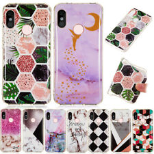 For Xiaomi Redmi Note 7 K20 Pro A2 Lite Marble Pattern Soft Gel Slim Case Cover