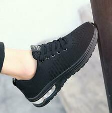 Men's Athletic Shoes Outdoor Flyknit Sneakers Casual Trainers Sports Breathable