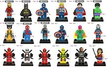 Marvel Universe Super Heroes DC Avengers Iron Man Batman Captain America Thor