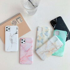 Marble Glossy Phone Case For iPhone 11 Pro Max XS XR 8 7 Fashion Soft Back Cover