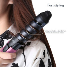 KEMEI Professional Electric Hair Curler Spiral Curling Iron Wand Styling Tools