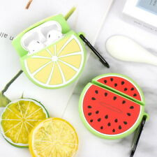 EarPhone Protective Case For Airpods 1/2 Shockproof Silicone Cute Fruit Pattern