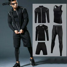 Men Sportswear Compression Sport Suits Quick Dry Running Sets Clothes Sports
