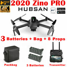 Hubsan Zino PRO 5G FPV APP Drone Foldable ---12MP 4K Camera 3Gimbal+3Battery+Bag