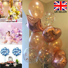 14pcs Happy Birthday Helium Foil Latex Balloons Star Heart Wedding Ballons Party