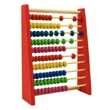 Wooden Abacus Beads Numbers Educational-Toy Math-Learning-Toy Counting Toy