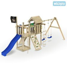 WICKEY Captain Woodfoot Spielturm Schiff Kletterturm