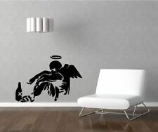 BANKSY FALLEN ANGEL Wall Decals & Stickers