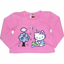 GIRLS HELLO KITTY LONG SLEEVED TOP 2-3 3-4 4-5 BNWT