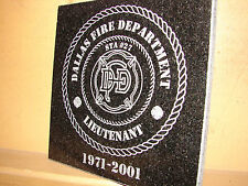 Stone Personalized Laser Tribute Plaque Gift Award VIII