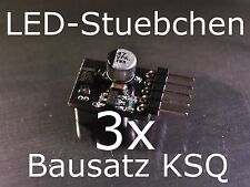 3x Bausatz LED Konstantstromquelle, LED, Step-down, KSQ