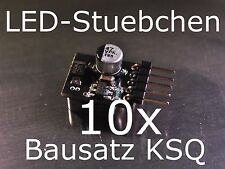 10x Bausatz LED Konstantstromquelle, LED, Step-down,KSQ